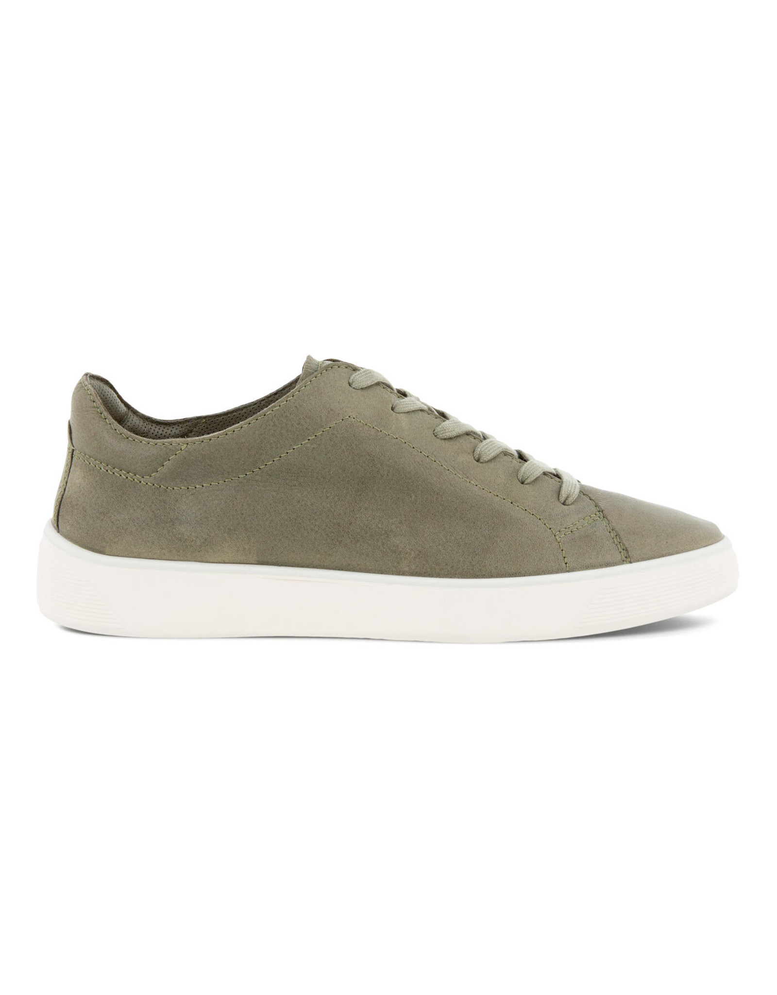 ECCO MEN'S STREET TRAY LACED SHOES-VETIVER