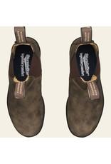 BLUNDSTONE CLASSIC CHELSEA BOOT-RUSTIC BROWN