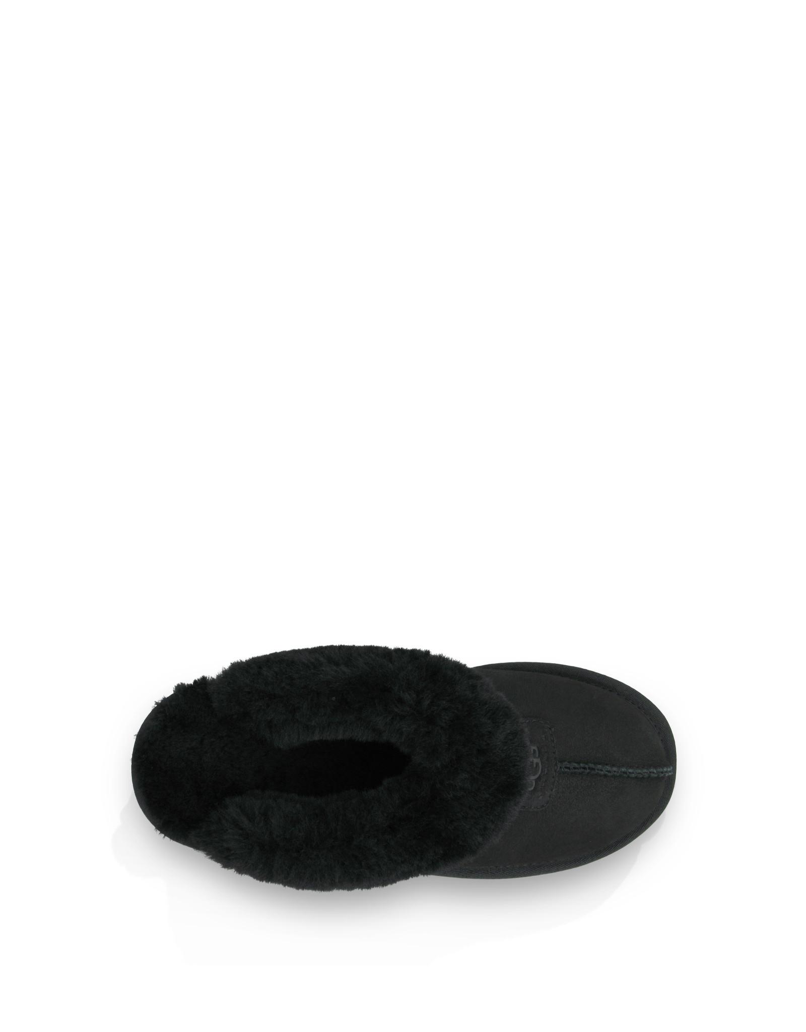 UGG WOMEN'S COQUETTE SLIPPER-BLACK