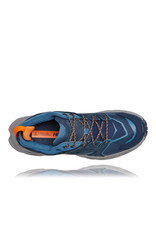 HOKA ONE ONE MEN'S ANACAPA LOW GTX-OUTER SPACE / REAL TEAL