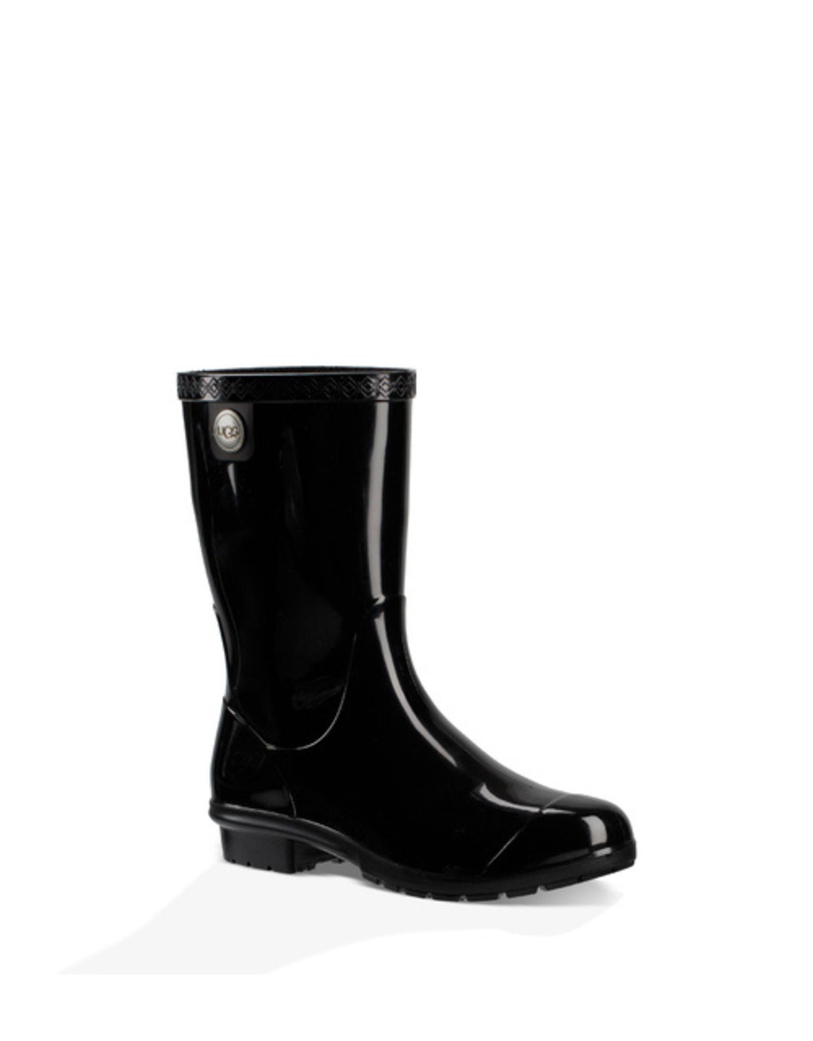 UGG WOMEN'S SIENNA RAIN BOOT-BLACK