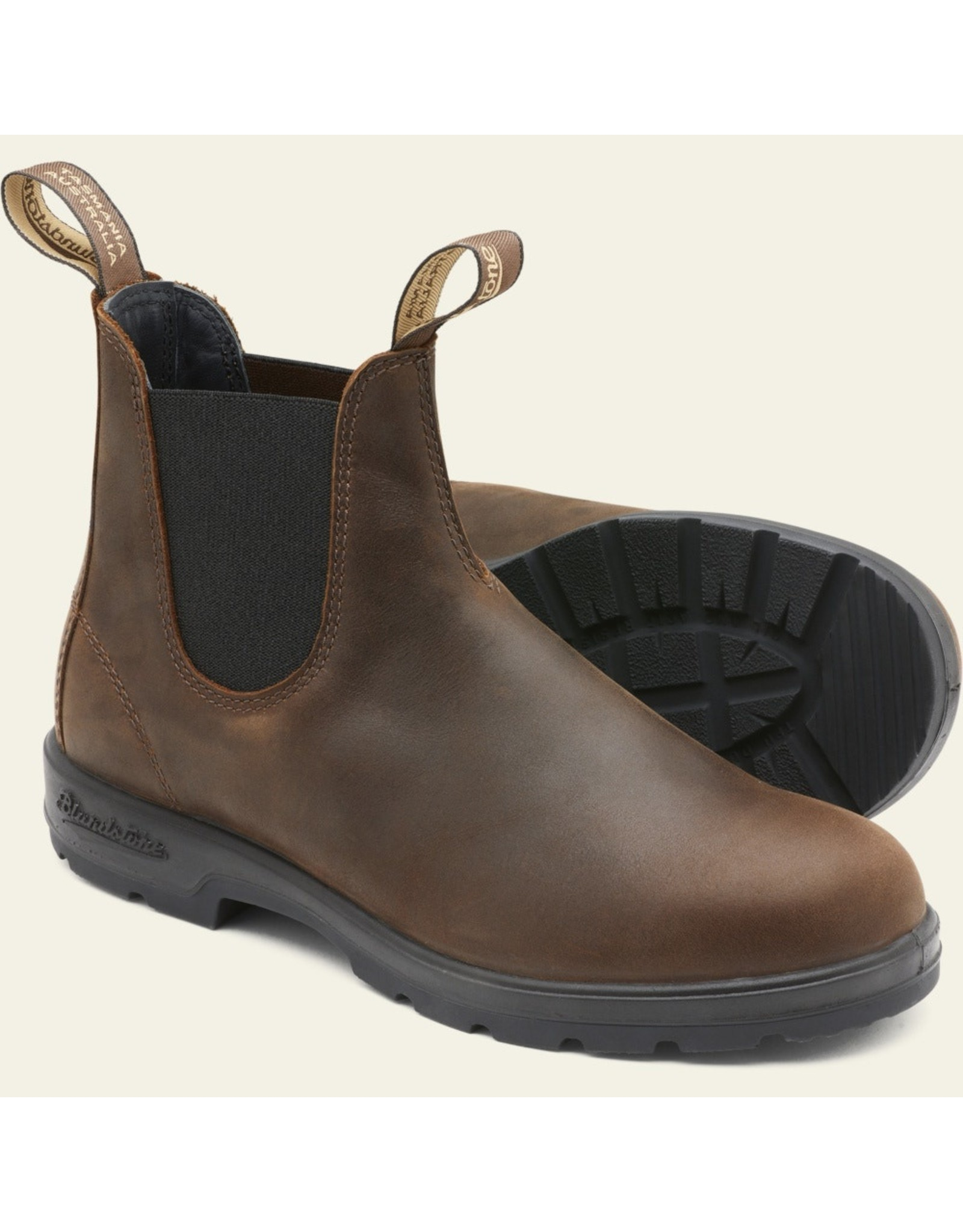BLUNDSTONE CLASSIC CHELSEA BOOT-ANTIQUE BROWN