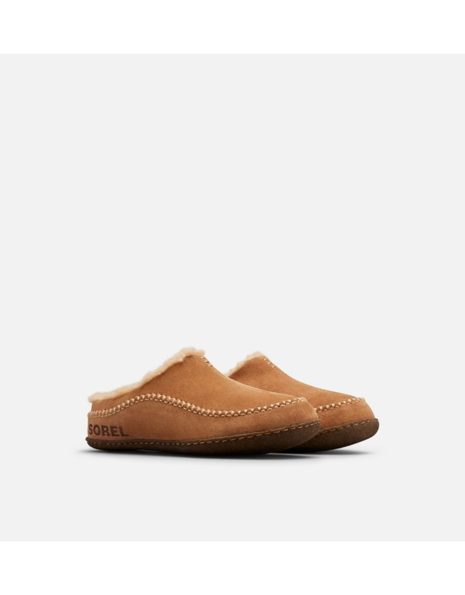 SOREL MEN'S FALCON RIDGE II SLIPPER-CAMEL BROWN/CURRY