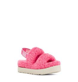 UGG WOMEN'S OH FLUFFITA SLIPPER-PINK ROSE