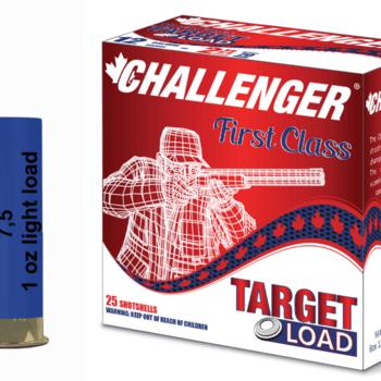 """CHALLENGER Challenger 12 Gauge Light Target Load 2 3/4"""", #7.5, 1 oz, 250 rds"""