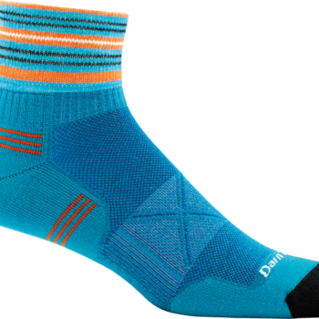 Darn Tough Running 1/4 sock Ultra Lightweight with cushion 1009
