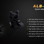 Fenix Fenix ALB-10 Quick Release Flashlight Bike Mount