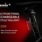 Fenix BC05R REAR BIKE LIGHT RECHARGEABLE FENIX