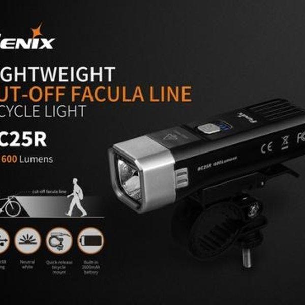 Fenix BC25R BIKE LIGHT RECHARGEABLE FENIX