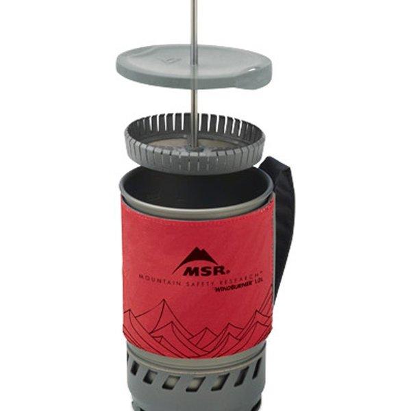 MSR WindBurner Coffee Press Kit 1 Litre