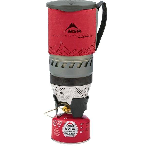 MSR WindBurner Personal Stove System Red 1.0 Ltr