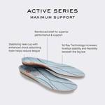 Orthaheel Active Maximum Support
