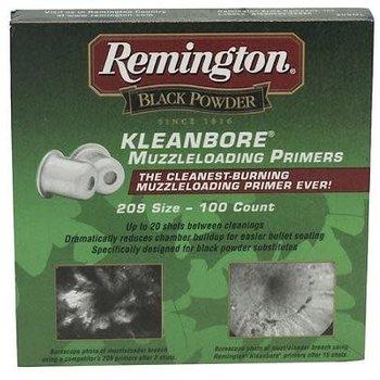 Remington Kleanbore Muzzleloading Primers 209 - 100 Count