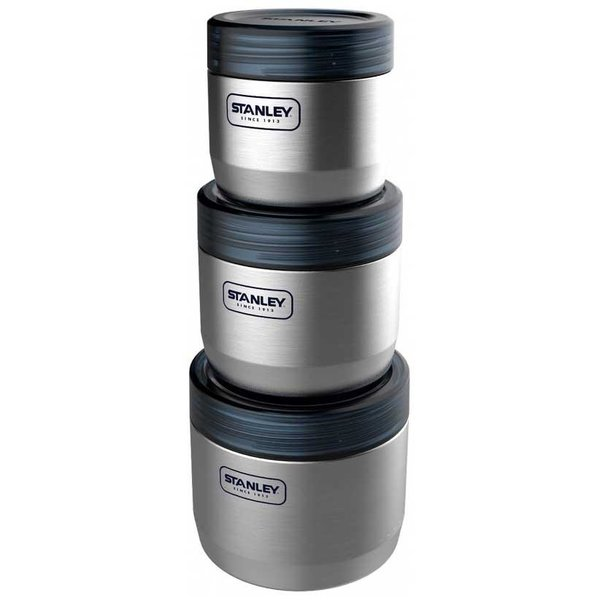 Stanley Three Nesting Steel Canisters