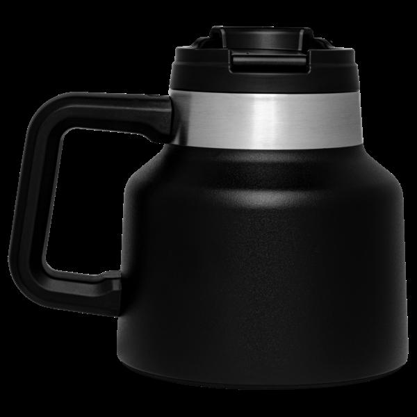 Stanley Stanley The Tough to Tip Admiral's Mug 20oz / .59litre Black