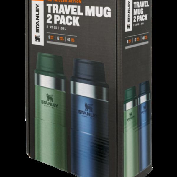 Stanley Stanley The Trigger Action Travel Mug 2 Pack 20oz 2/Pk