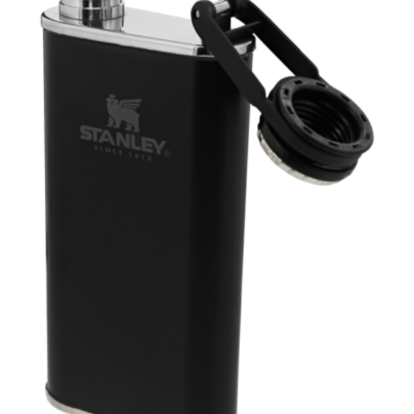 Stanley Stanley The Easy Fill Wide Mouth Flask 8oz Black