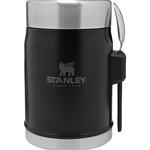 Stanley Stanley The Legendary Vacuum Food Jar + Spork Matte Black 14oz