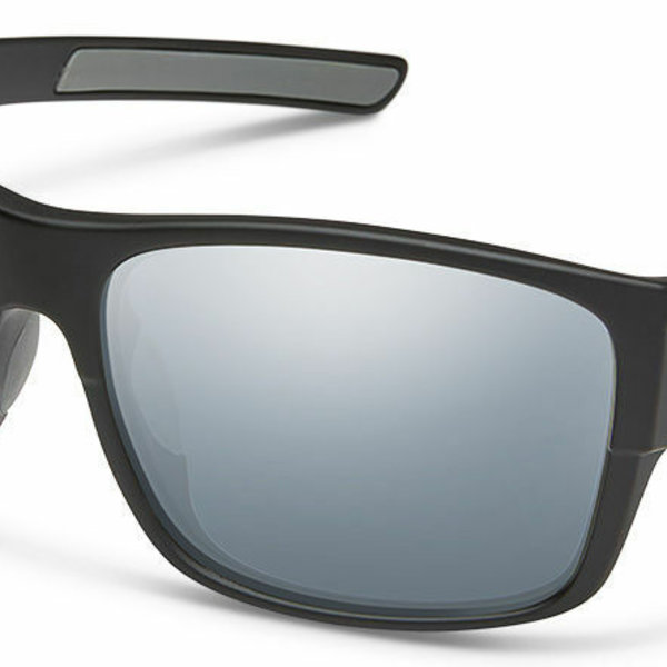 SunCloud Range Matte Black/Polar Silver Mirror