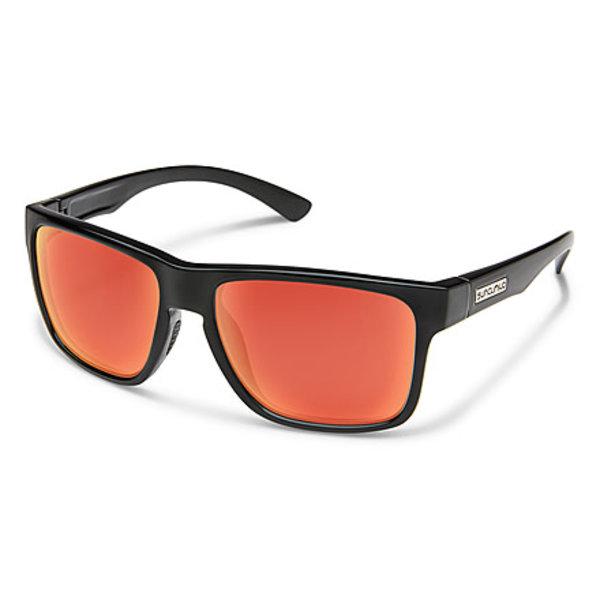 SunCloud Suncloud Rambler Matte Black/Polar Red Mirror