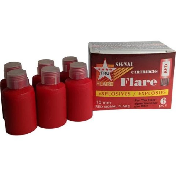 TruFlare Tru Flare Red Signal Flares, box of 6