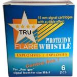 TruFlare Tru Flare Whistle, Center Fire, Box of 6
