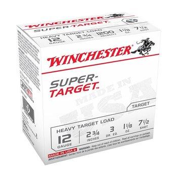 """Winchester Winchester 12 Gauge Super Target, HEAVY TARGET LOAD 2 3/4"""", 1200fps, 1 1/8oz, #8"""