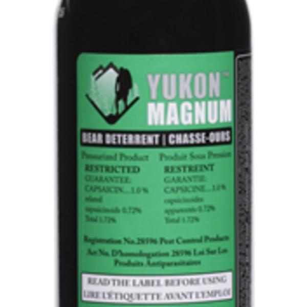 Yukon Magnum Bear Deterrent Spray Yukon Magnum 325G 1.72%
