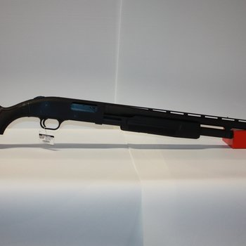 "MOSSBERG Mossberg 500 Pump Action Shotgun 12 Gauge 28"" Barrel Ported Synthetic Stock Black Twin Bead Sights #MOS56420"