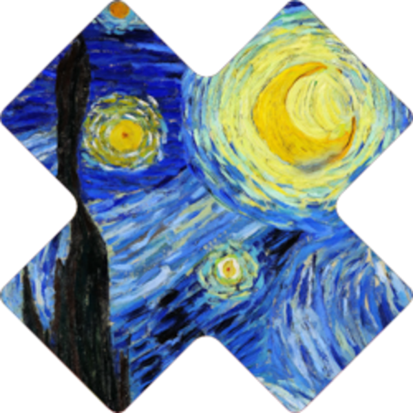 NoSo Patch Starry Night