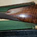 W. & C. Scott Double Barrel Hammer 12 bore Shotgun, 1872 w Original case, Excellent condition