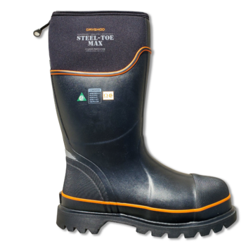 DryShod CSA Steel Toe MAX Safety Boot Extreme Cold