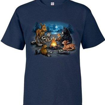 Monashee Outdoors Campfire Critters Child T-Shirt