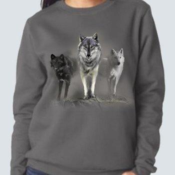 Monashee Outdoors Wolf Tribute Crewneck Sweater