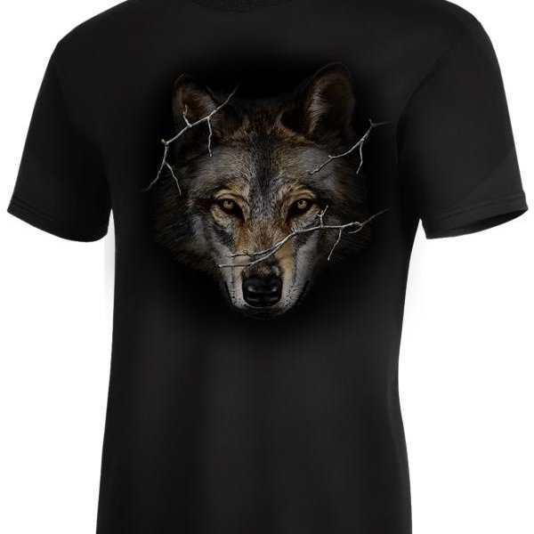 Monashee Outdoors Big Head Wolf Prowl T-Shirt