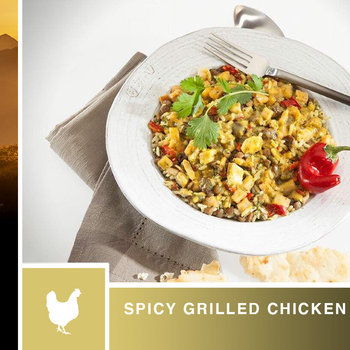 AlpineAire Spicy Grilled Chicken Curry