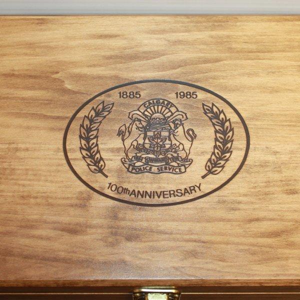 Smith & Wesson 10-8 CPS Centennial 38spl Presentation Case, Original Box