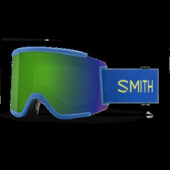 Smith Squad XL Electric Blue / Sun Green Mirror / Storm Yellow Flash