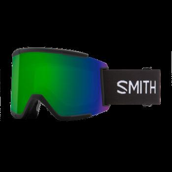 Smith Squad XL Black / Sun Green Mirror / Storm Rose