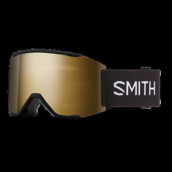 Smith Squad MAG Black / ChromaPop Sun Black Gold Mirror / Storm Rose Flash