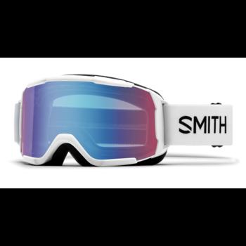 Smith Daredevil Youth Fit - Medium White / Blue Sensor Mirror