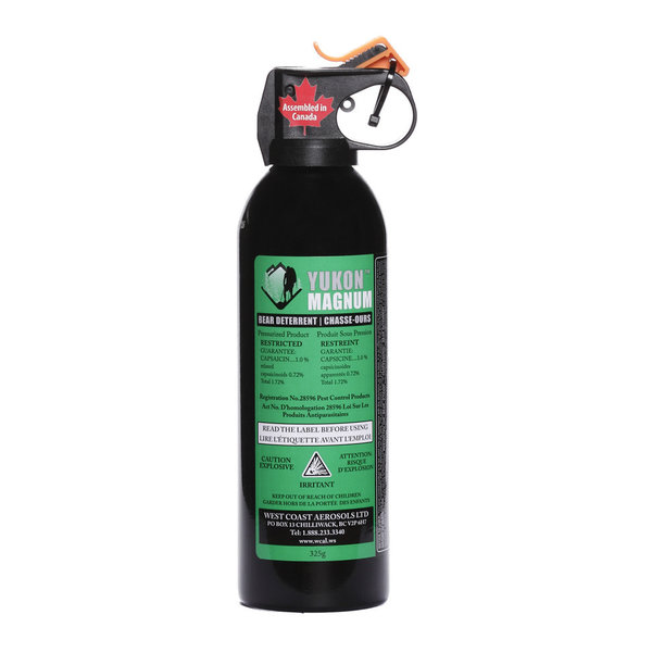 Yukon Magnum Bear Deterrent Spray Yukon Magnum 225G 1.72%