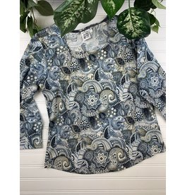 Parsley & Sage Parsley & Sage 3/4 Slv Top, Style 20W236C