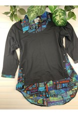 Parsley & Sage Parsley & Sage Layla Layered Tunic, Style 20W208T17