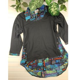 Parsley & Sage Parsley & Sage Layla Layered Tunic, Style 20W208T17