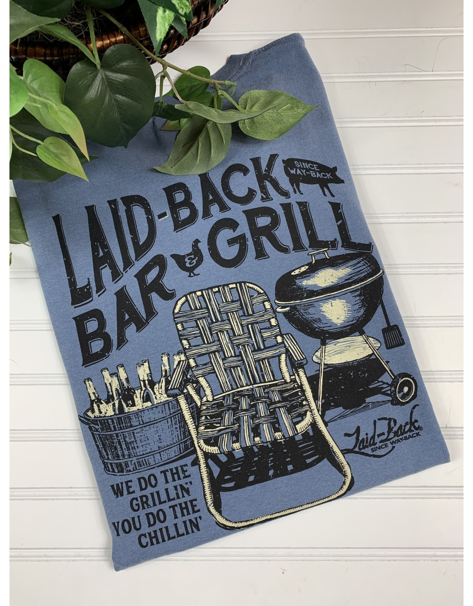 Laid Back Laid Back Bar and Grill T-Shirt