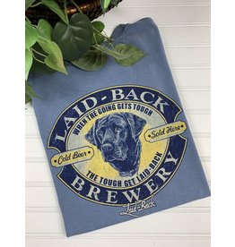 Laid Back Laid Back Tough Black Lab T-Shirt