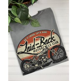 Laid Back Laid Back Indian Motorcycle T-Shirt