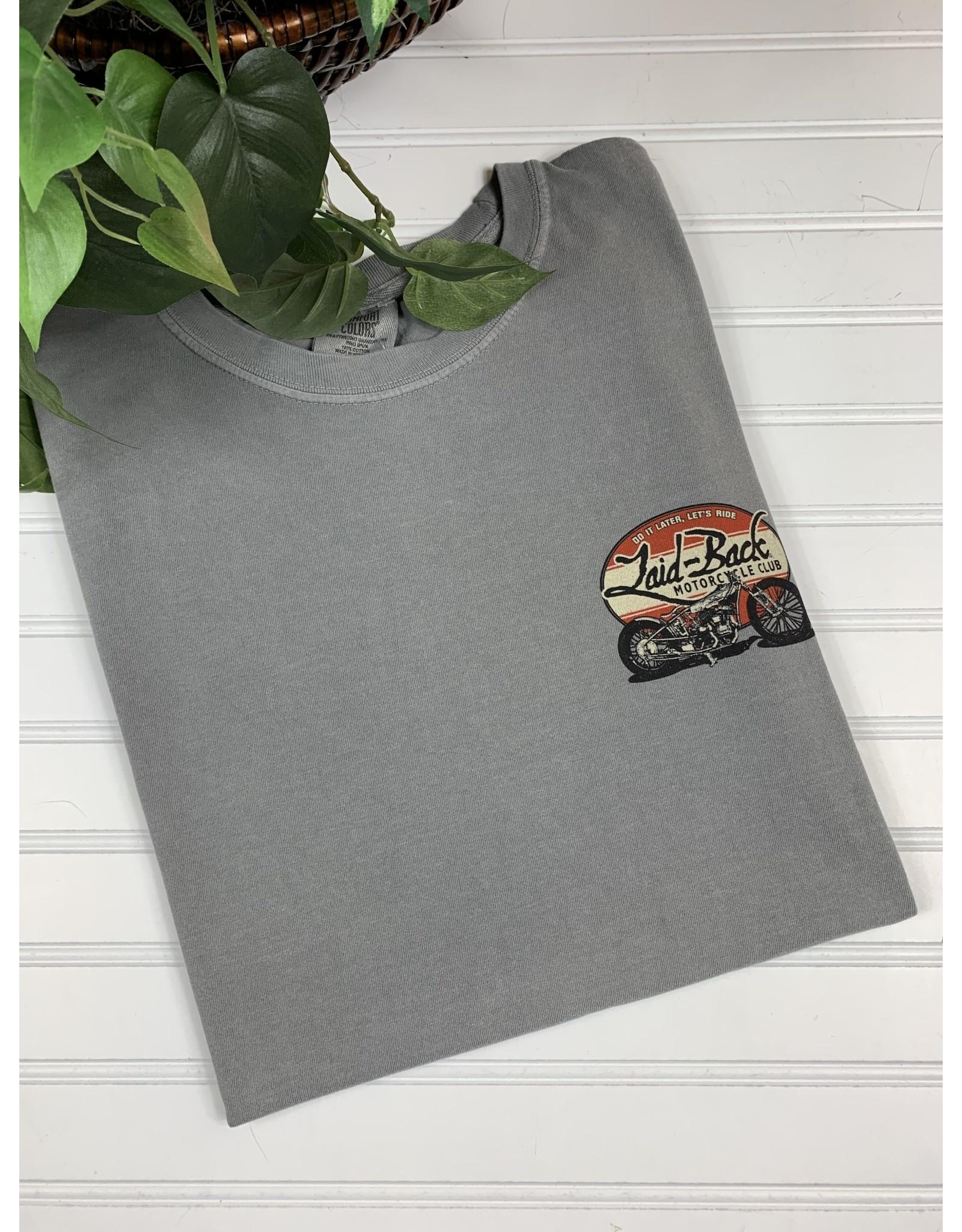 Laid Back Laid Back Indian Motorcycle T-Shirt