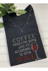 Isaac's Isaac's Coffee Keeps Me Going Tee